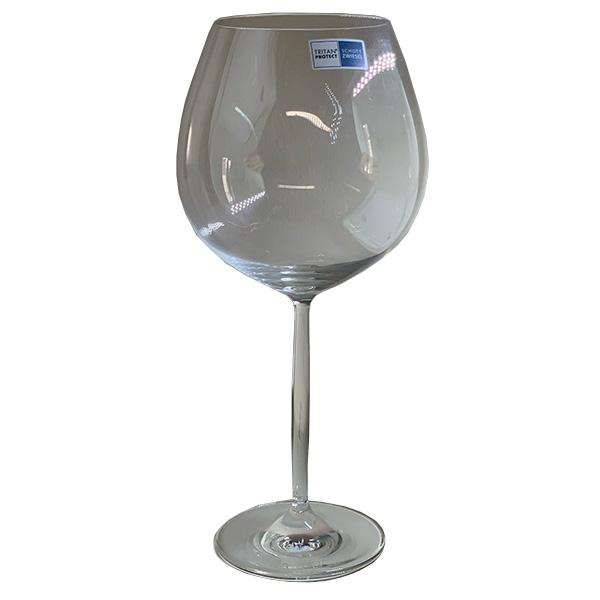 Juego 6 Copas Vino Cristal
